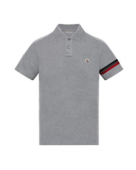 Moncler - Striped Sleeve Polo