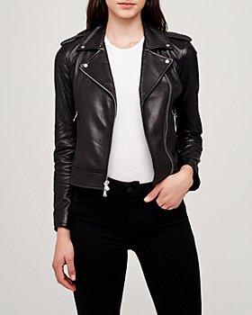 L'AGENCE - Lambskin Biker Jacket