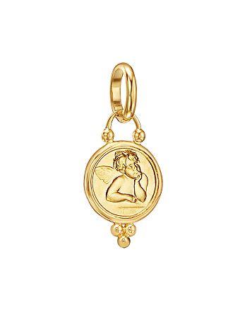 Temple St. Clair - 18K Gold 10mm Angel Pendant