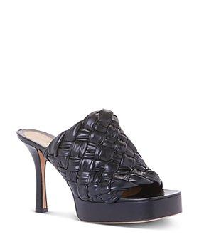 Bottega Veneta - Women's Board High Heel Platform Slide Sandals