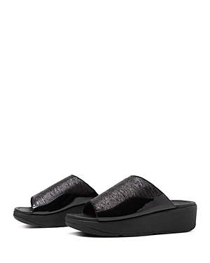 FitFlop Women\\\'s Myla Metallic Slide Sandals