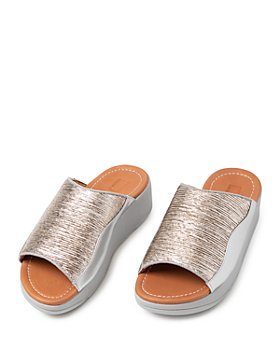 FitFlop - Women's Myla Metallic Slide Sandals