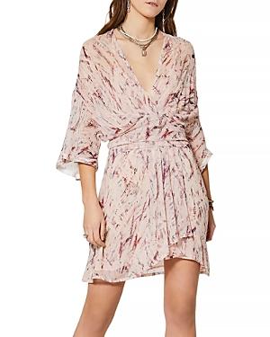 Iro Pommie Silk Printed Dress-Women