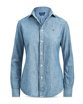 Ralph Lauren - Slim-Fit Chambray Shirt