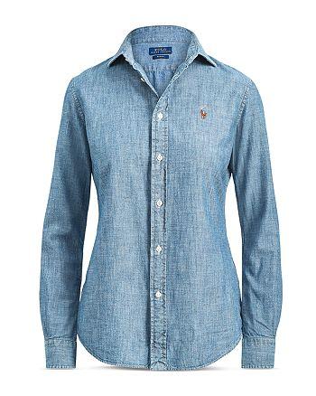 Ralph Lauren - Slim-Fit Chambray Shirt