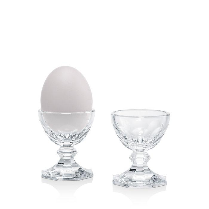 Baccarat - Harcourt Crystal Eggholders, Set of 2
