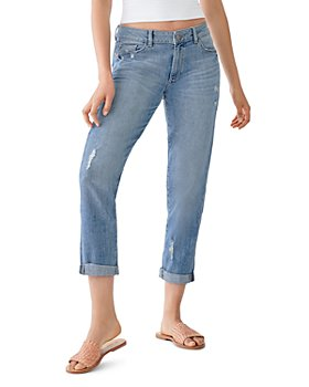 DL1961 - Riley Ripped Boyfriend Jeans in Washburn