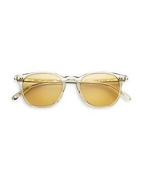 GARRETT LEIGHT - Unisex Clark Square Sunglasses, 47mm