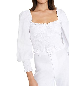 Faithfull the Brand - Bel Rose Smocked Top