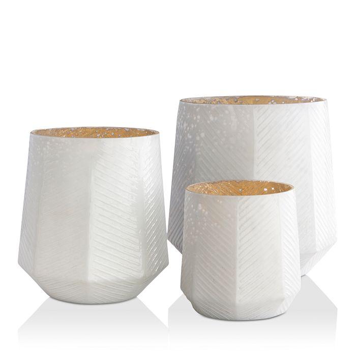 Surya - Pearl 3 Piece Vase Set