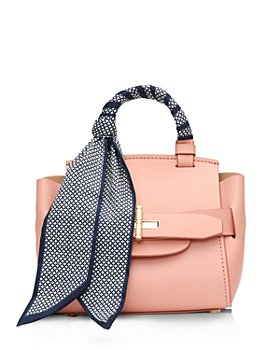 ZAC Zac Posen - Brigette Belted Leather Mini Crossbody