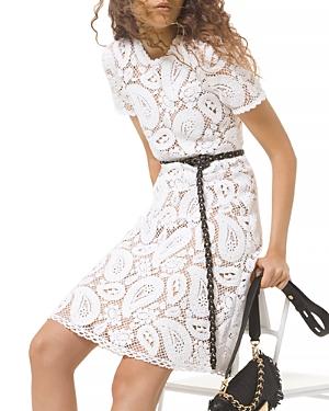 Michael Michael Kors Crocheted Cotton Dress-Women
