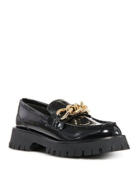 Jeffrey Campbell -  Women's Recess Lug Sole Chain Loafers