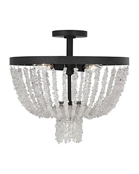 AH by Alexa Hampton - Leon 4 Light Flush Mount