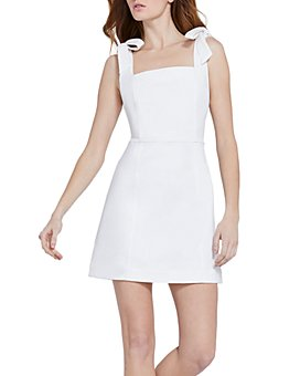 Alice and Olivia - Maryann Tie Shoulder Mini Dress
