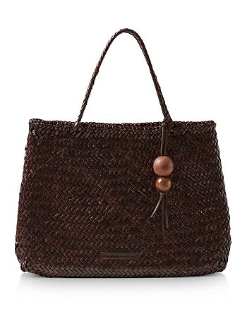 Loeffler Randall - Nomi Large Woven Leather Tote