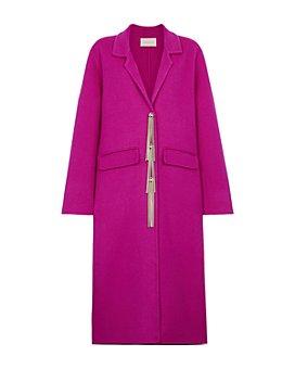 CHRISTOPHER KANE - Embellished Fringe Coat