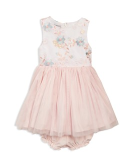 Pippa & Julie - Girls' Embroidered Mesh Bodice Tutu Dress - Baby
