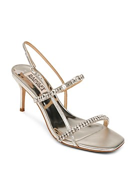 Badgley Mischka - Women's Zane Strappy Embellished Sandals