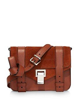 Proenza Schouler - PS1 Leather & Suede Mini Crossbody
