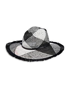 Helene Berman - Woven Fringed Hat