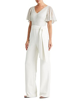 Ralph Lauren - Liviana Sequin Wide Leg Jumpsuit