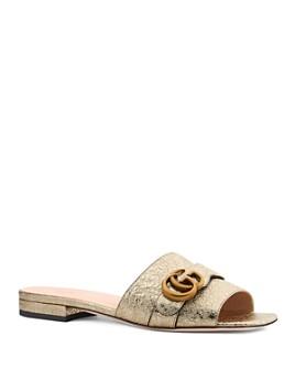 Gucci - Women's Double G Slide Sandals