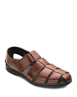 To Boot New York - Men's Santorini Leather Fisherman Sandals