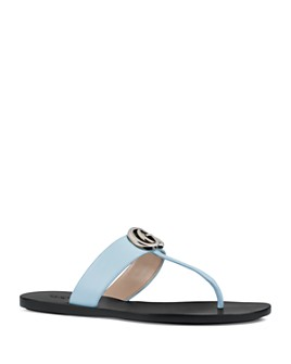 Gucci - Women's Marmont Flat Thong Sandals