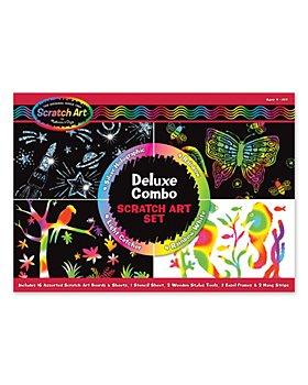 Melissa & Doug - Deluxe Combo Scratch Art Set - Ages 4-104