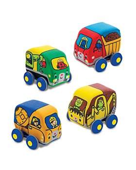 Melissa & Doug - Pull Back Construction Vehicles- Ages 9 Months+