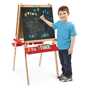 Melissa & Doug Deluxe Magnetic Standing Art Easel- Ages 3+