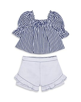 Habitual Kids - Girls' Cecelia Swing Top & Ruffled Shorts Set - Little Kid