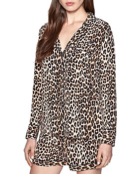 Equipment - Lillian Leopard Silk Pajama Set