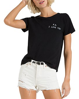 n:philanthropy - Cotton P.S. I Love You Graphic Tee