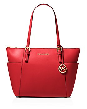 MICHAEL Michael Kors - Jet Set East/West Saffiano Leather Tote