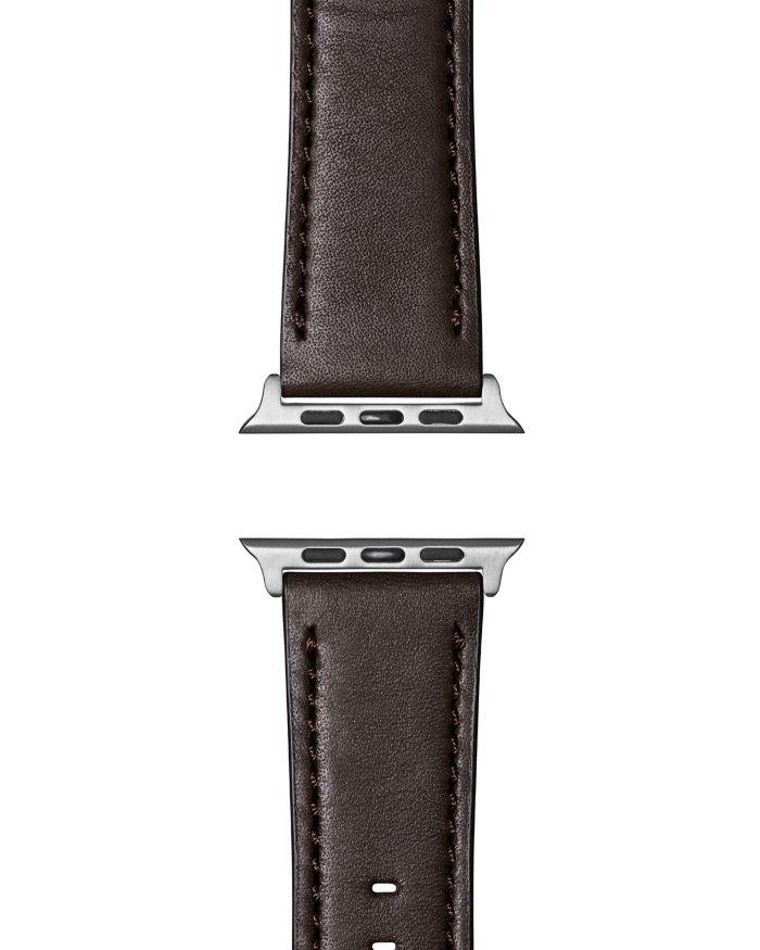 Shinola Kodiak Abilene Leather Strap for Apple Watch®, 20mm    Bloomingdale's