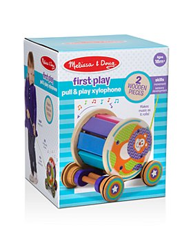 Melissa & Doug - Pull & Play Xylophone - Ages 18 Months+