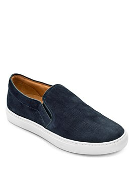 To Boot New York - Men's Cordoba Scratched Slip On Sneakers