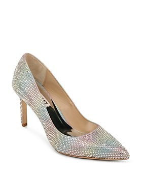 Badgley Mischka - Women's Godiva Slip On Embellished Pumps