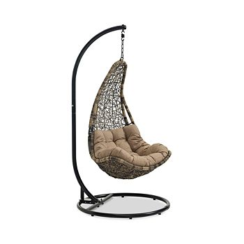 Modway - Abate Outdoor Patio Swing Chair with Stand