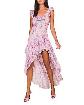 LoveShackFancy - Winslow Asymmetric High/Low Dress