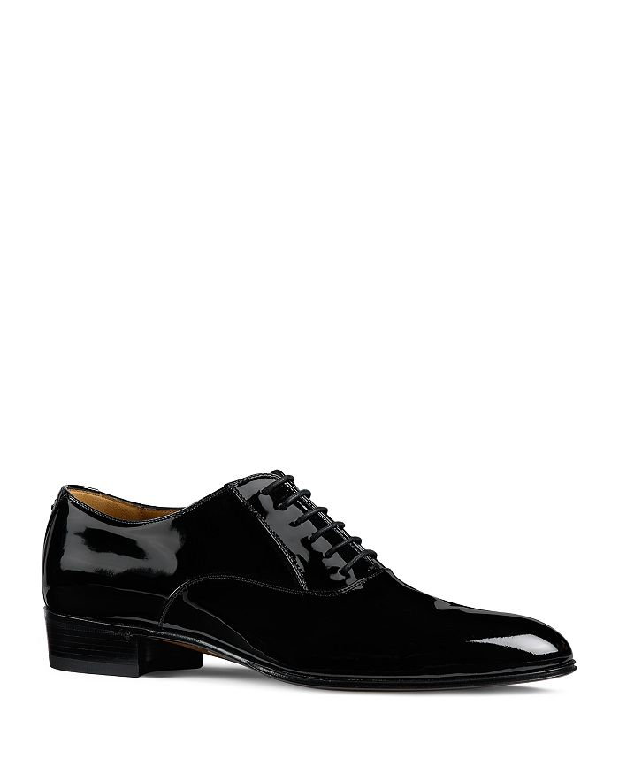 Gucci - Men's Worsh Patent Leather Oxfords