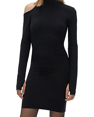 Helmut Lang Cutout Bodycon Dress