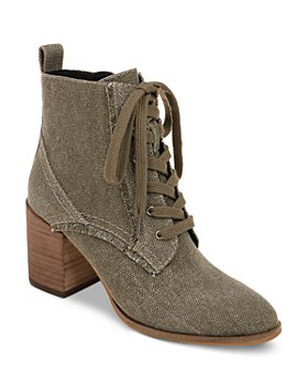 Splendid - Women's Leonardo Lace Up Zipper Booties