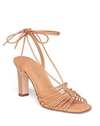 Loeffler Randall - Women's Hallie Strappy Ankle Tie High Heel Sandals