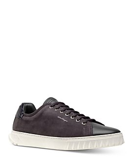 Salvatore Ferragamo - Men's Lace Up Sneakers