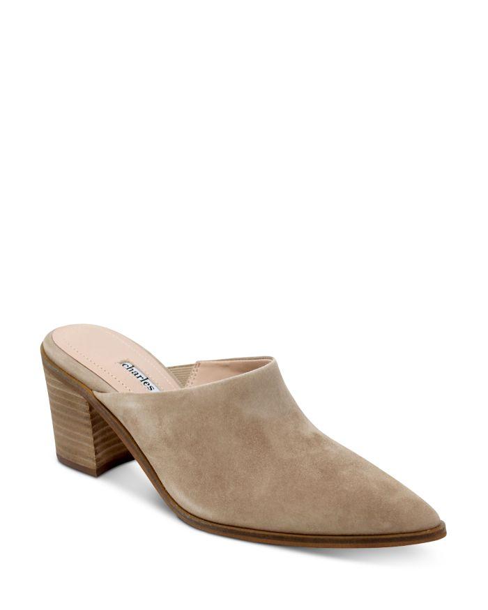 Charles David Women's Elsie High Heel Mules    Bloomingdale's