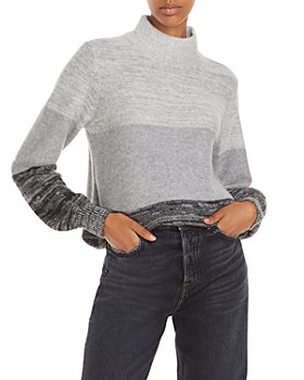 C by Bloomingdale's - Ombré Cashmere Turtleneck Sweater - 100% Exclusive