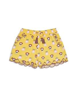 Peek Kids - Girls' Isabella Floral Print Shorts - Little Kid, Big Kid